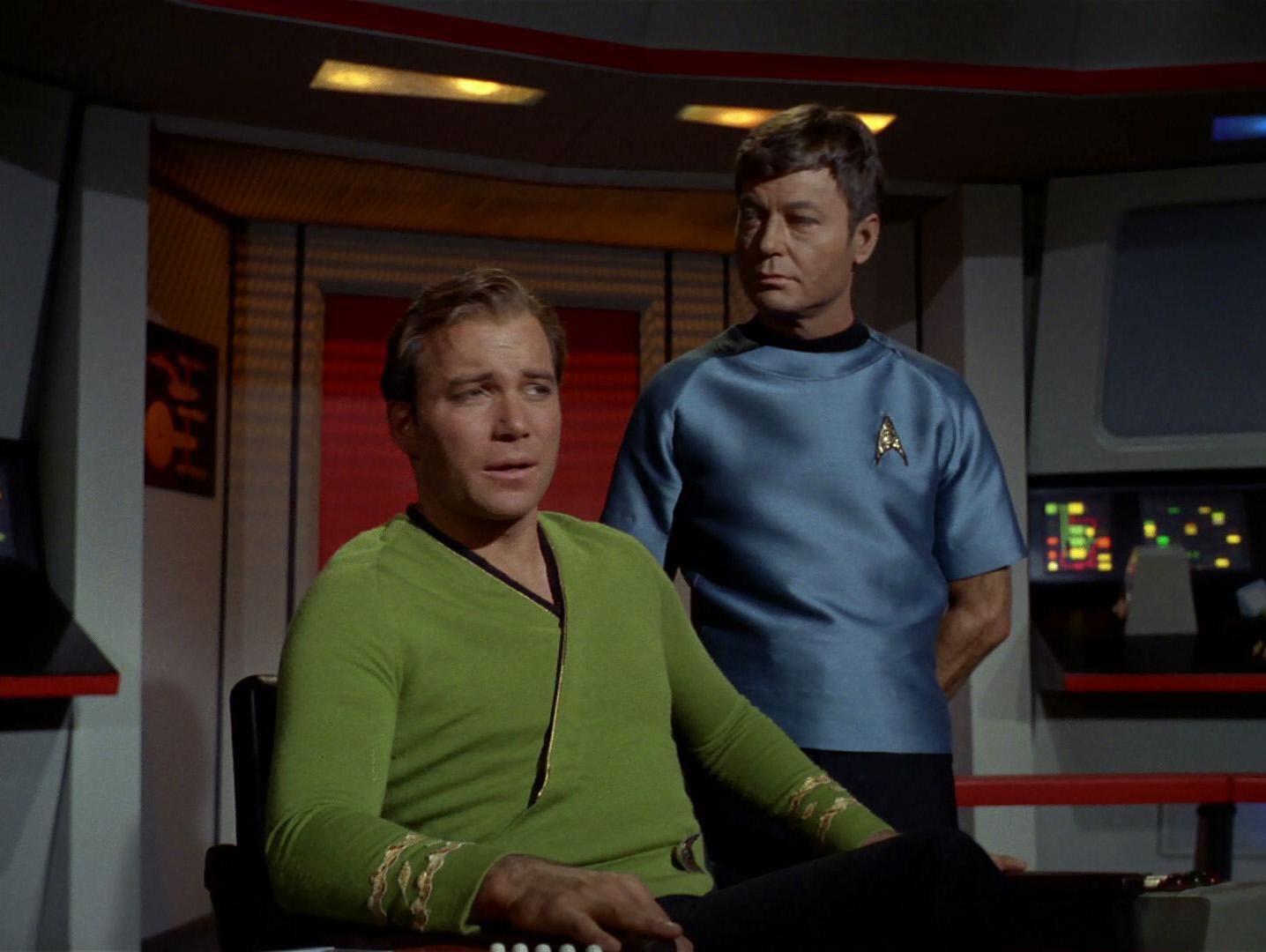 Image result for star trek kirk green shirt