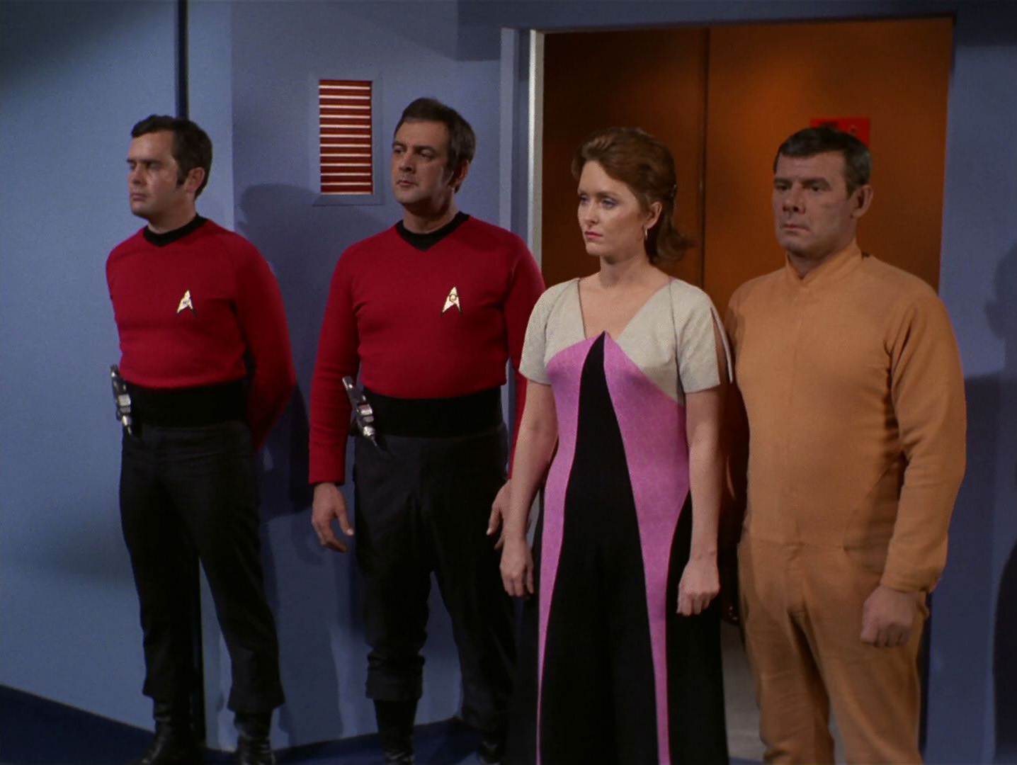 Image result for star trek turnabout intruder
